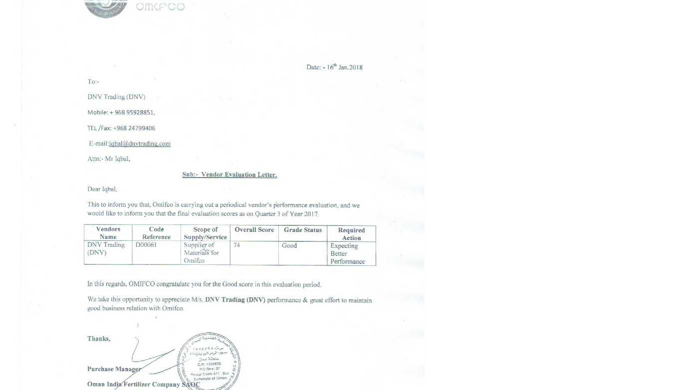 DNV TRADING LLC