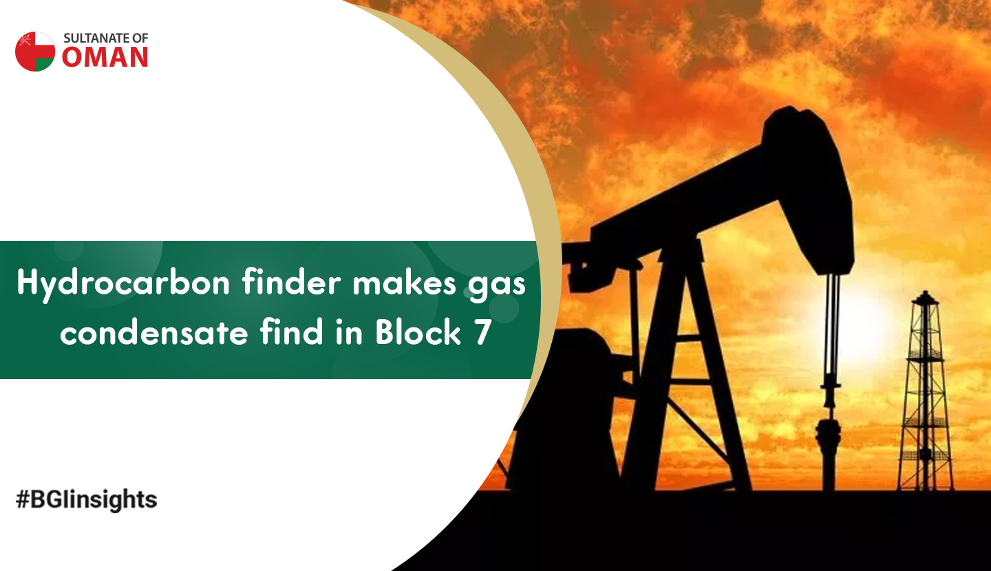 Hydrocarbon Finder makes gas condensate find in Block 7