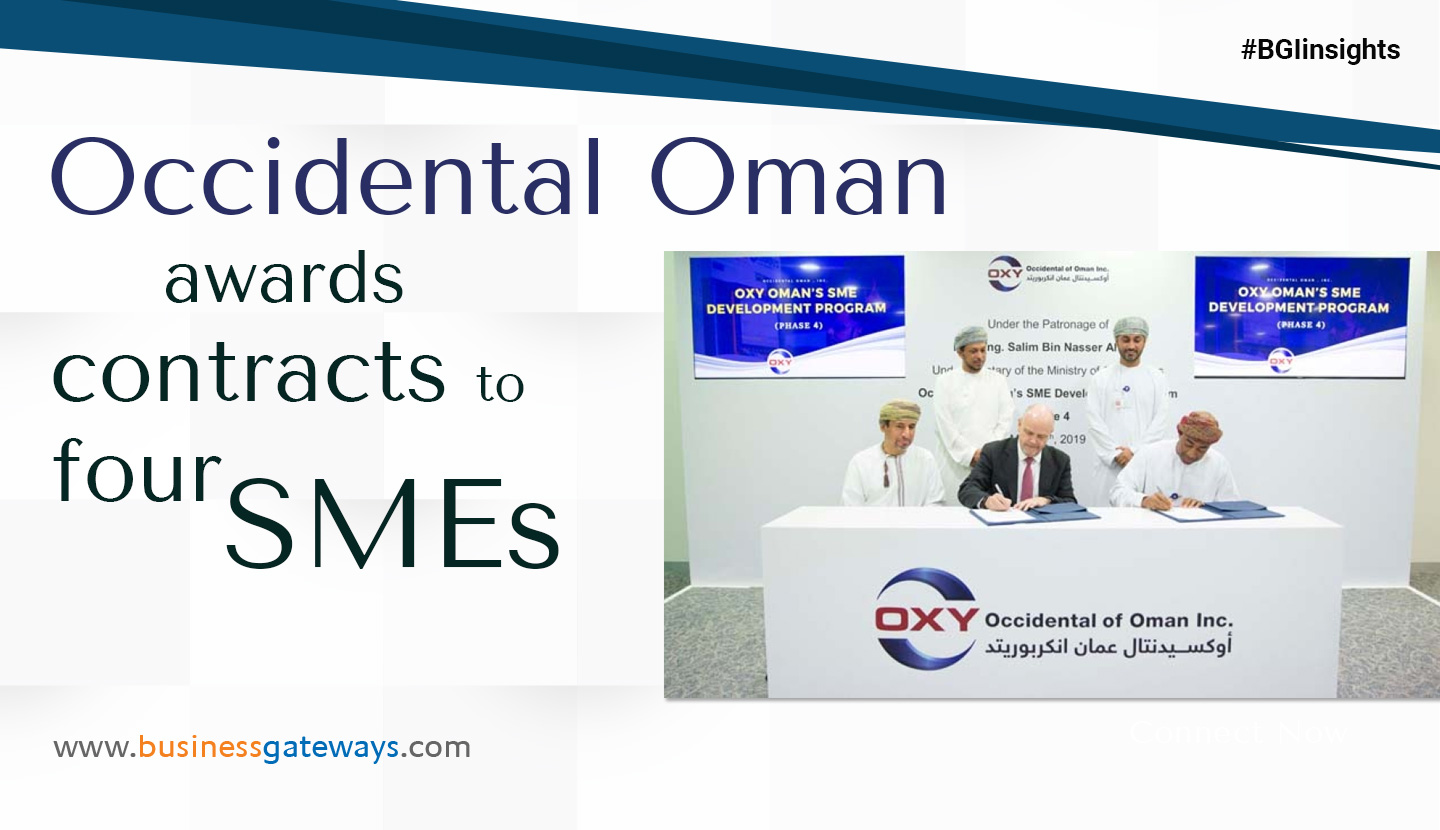 Occidental Oman awards contracts to four SMEs