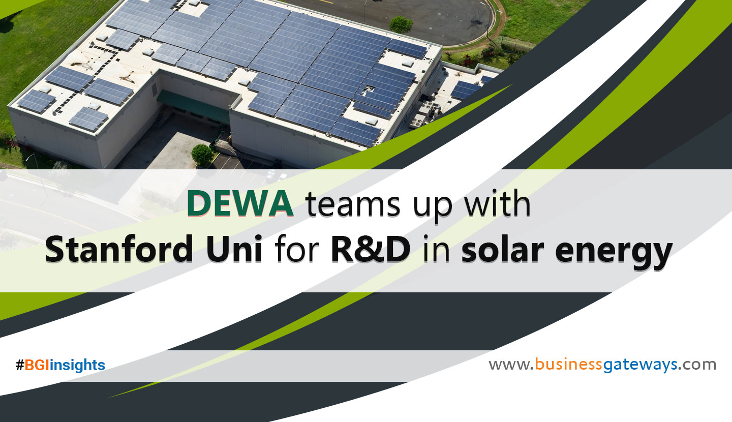 DEWA teams up with Stanford Uni for R&D in solar energy
