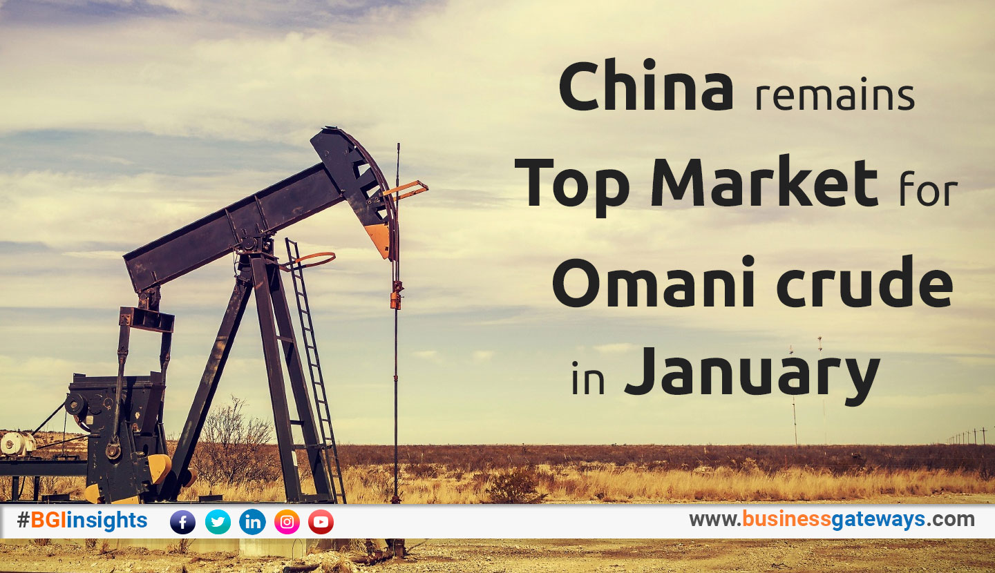 China remains top market for Omani crude in January